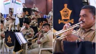 Viral Video: Mumbai Police Band Plays The Iconic James Bond Theme Music, Wows The Internet   Watch