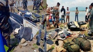 Army Helicopter Crash in J&K's Kathua: Pilot, Co-pilot Still Missing After a Day