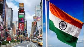 Independence Day 2021: Biggest Tricolour to Be Unfurled at New York's Times Square on August 15
