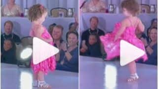 Viral Video: Little Girl Crashes a Fashion Show & Walks on Runway Like a Model, Steals The Show With Her Cuteness | Watch