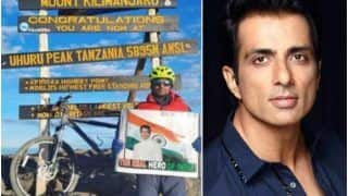 Mountaineer Uma Singh Reaches Top of Mt. Kilimanjaro, Dedicates Feat to Sonu Sood by Waving His Poster   Watch