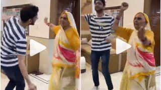 Viral Video: 89-Year-Old Dadi Dances to Badshah's 'Baawla' With Her Grandson, Impresses With Her Energy | Watch