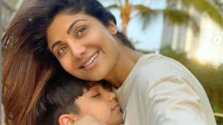 Shilpa Shetty's Son Viaan Raj Kundra Shares First Post With Mom After Father's Arrest, Meezan Sends Heart