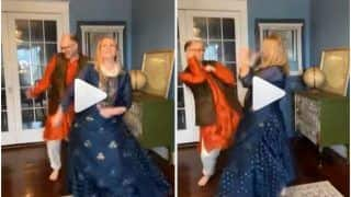 Viral Video: US 'Dancing Dad' Grooves to 'Chammak Challo' With Wife to Celebrate 25th Wedding Anniversary | Watch