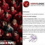 Jaipur-based Firm Declares Sep 3 as 'Netflix and Chill Holiday' to Watch Money Heist Season 5