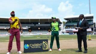 West Indies vs Pakistan Match Highlights And Updates 4th T20I: Pakistan Clinch Series 1-0 as Rain Washes Out Another Game