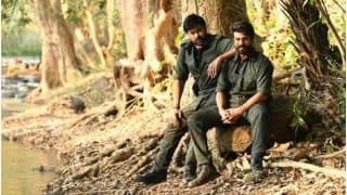 Chiranjeevi and Ram Charan Starrer Acharya Nears Completion, Father-Son Picture From The Sets Go Viral