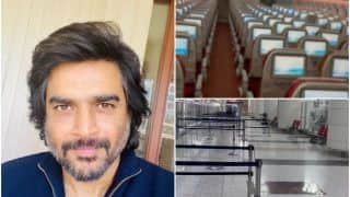 R. Madhavan Travels To Dubai All-Alone In a Flight, Shares Video of Deserted Airport   Watch