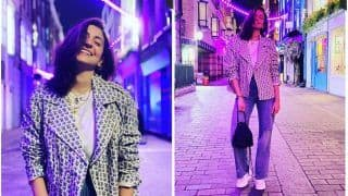 Anushka Sharma Looks Chic with Her Biker Jacket Worth Rs. 6K from H&M and Prada Bag Worth Rs. 1Lakh