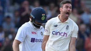 WATCH: Virat Kohli Becomes James Anderson's Bunny For Seventh Time in Test Cricket