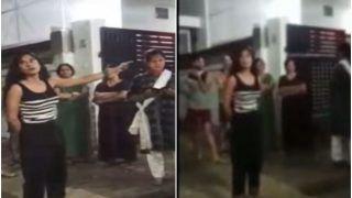 Lucknow Girl Viral Video: कैब ड्राइवर को थप्पड़ मारने वाली महिला का एक और वीडियो वायरल, कहा-  काले पेंट से हो सकता है ड्रोन हमला...