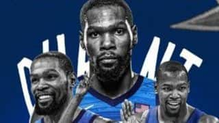 Basketball Player Kevin Durant Becomes USA's Top Scorer at Olympics