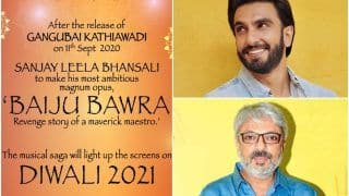 Ranveer Singh, Not Ajay Devgn or Ranbir Kapoor, Bags Sanjay Leela Bhansali's Baiju Bawra? Read on