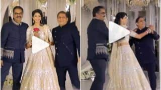 Viral Video: Bride Dances Lovingly With Her Father & Father-in-Law at Wedding Reception, Wins Hearts | Watch