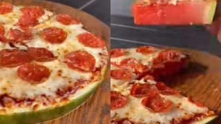 Forget Pineapple Topped Pizzas, Now This Video of a Man Making Watermelon Pizza is Going Viral and Dominos Recreates it| WATCH