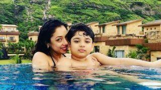 Anupamaa Fame Rupali Ganguly Looks Ravishing In Halter-Neck Bikini As She Takes Dip In The Pool | See Hot Pic
