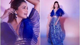 Madhuri Dixit in 'Blutiful' Lehenga Amps Up the Fashion Game