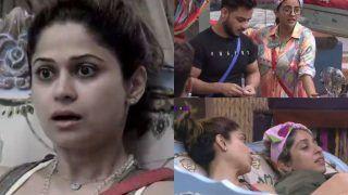 Bigg Boss OTT: Akshara Singh Says 'Bas Taang Kholne Aata Hai' To Neha Bhasin, Shamita Shetty Feels Offended