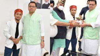 Pawandeep Rajan Becomes Uttarakhand's Art, Tourism, Culture Brand Ambassador, CM Says 'He Raised Value of Devbhoomi'
