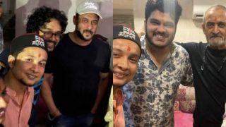 Indian Idol 12 Winner Pawandeep Rajan Along With Arunita Kanjilal And Others Meet Salman Khan | See Pics