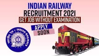 Indian Railway Recruitment 2021: Get Job Without Exam, Apply Now, Last Date Soon