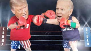Trump Claims He Can Knock Out Joe Biden Within Seconds in Boxing Ring, Twitter Says 'Set it Up' | Watch