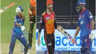 IPL 2021, DC vs SRH: Rishabh Pant के हाथ से छूटा बैट, बाल-बाल बचे Kane Williamson, वीडियो वायरल