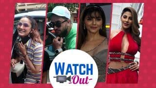 Rubina Dilaik Looks Gorgeous in Grey, Snapped Outside Bigg Boss OTT Sets: Watch Exclusive Video