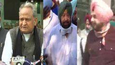 Rajasthan CM गहलोत ने कहा- उम्मीद है कि अमरिंदर सिंह कांग्रेस के लिए नुकसान पहुंचाने वाला कदम नहीं उठाएंगे