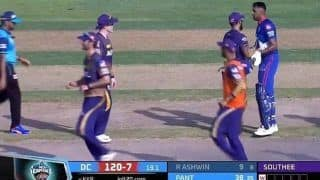 IPL 2021: Ravichandran Ashwin Nearly Gets Into Fight With Eoin Morgan in Sharjah, Dinesh Karthik Pacifies Situation | WATCH VIDEO