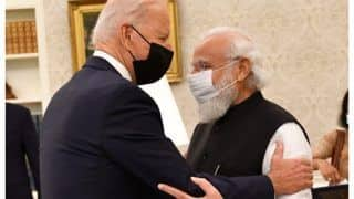 PM Modi Gets A Warm Welcome From Joe Biden At The White House, Video Wins Heart | Watch