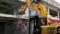 UP: मुख्तार अंसारी के सहयोगी की 4 मंजिला बिल्डिंग की जा रही ध्वस्त, इमारत की कीमत 10 करोड़ रुपए