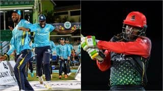 CPL 2021 FINAL Highlights SLK vs SKN Match Updates: Dominic Drakes Powers St Kitts and Nevis Patriots to Their Maiden CPL Title