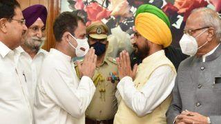 Charanjit Channi Takes Oath as First Dalit CM of Punjab Amid Fresh Infighting, Gets 2 Deputies