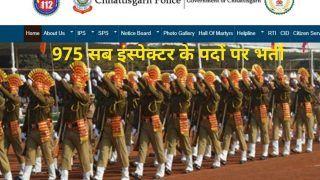 Chhattisgarh Police SI Recruitment 2021: छत्तीसगढ़ पुलिस में सब इंस्पेक्टर के पदों पर निकली बंपर वैकेंसी, जल्द करें आवेदन, 35000 से अधिक होगी सैलरी