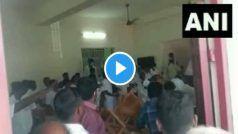 Video: सांसद कार्ति चिदंबरम सामने ही कांग्रेस कार्यकर्ताओं के दो गुट भिड़े, एक-दूसरे पर फेंकी कुर्सियां..