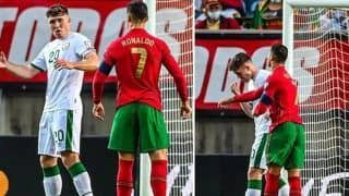 Cristiano Ronaldo Slaps Ireland's Defender Before Taking Penalty in FIFA World Cup Qualifier Match | WATCH VIDEO