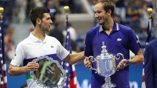 Daniil Medvedev Calls Novak Djokovic 'Greatest Player in Tennis History' After US Open 2021 Win