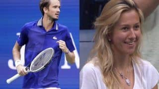 Daniil Medvedev Expresses Love For Wife Daria on Their Third Anniversary After US Open Win, Video Goes Viral   WATCH