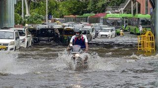 From Connaught Place to Chandni Chowk, Delhi Rains Turn Roads, Markets Into Flood Zones