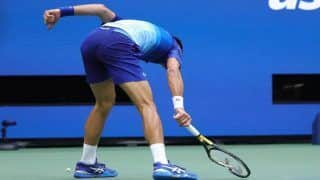 WATCH: Novak Djokovic Loses Cool, Smashes Racquet In Frustration During US Open Final Defeat To Daniil Medvedev