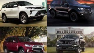 Toyota Fortuner vs Ford Endeavour vs MG Gloster vs Mahindra Alturas G4 - Check Out Which Big SUV Won Sales Battle in August 2021