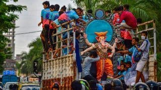 Ganesh Chaturthi 2021: Celebrations Begin Across India Amid COVID Restrictions. See Visuals