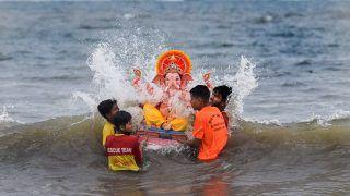 Ganesh Visarjan: Three Boys Feared Drowned in Sea at Versova During Ganpati Idol Immersion, 2 Rescued