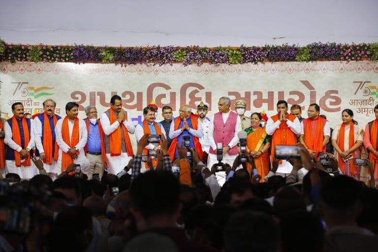24 Brand New Ministers Sworn-in, Taking Bhupendra Patel-Led Gujarat Govt's Strength to 25