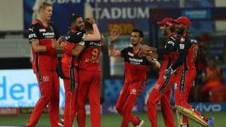 IPL 2021 Today Match Report, RCB vs MI 2021 Scorecard: Harshal Patel's Hat-Trick, Glenn Maxwell's All-Round Show Power Royal Challengers Bangalore to Thumping 54-Run Win Over Mumbai Indians