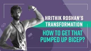 Want To Get Pumped Up Biceps Like Hritik Roshan ? Follow This Workout Routine | Watch Video