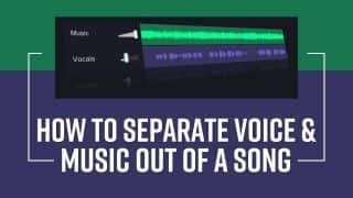 Extract Voice And Music Out Of a Song With These Simple Steps, Watch Video | Tech Reveal