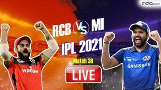 RCB vs MI MATCH HIGHLIGHTS, IPL Match 39 Cricket Updates: Harsha Patel's Hat-Trick Headlines Royal Challengers Bangalore Thumping 54-Run Win vs Mumbai Indians