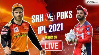 SRH vs PBKS MATCH HIGHLIGHTS IPL 2021 Today Updates: Jason Holder's Cameo in Vain; Punjab Kings Beat SunRisers Hyderabad by 5 Runs